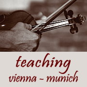 Jazz violin seminars Munich & Vienna
